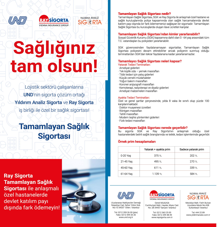 UND Tamamlayan Sağlık Sigortası